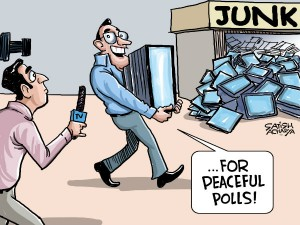 Ec To Bring Vvpats For Peaceful Polls