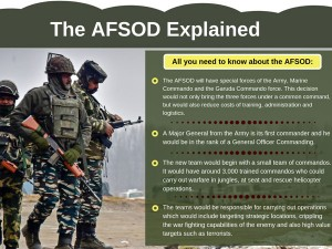 Explained Afsod The Elite Arm Of The Armed Forces