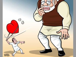 Modi Confused On Congress Dictionary Of Love