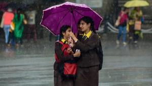Rain In Delhi Brings Relief From Scorching Heat