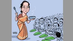 Can Nirmala Sitharaman Oblige All