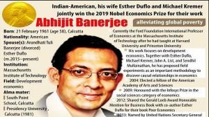 Abhijit Banerjee Erudite Economist S Remarkable Journey From Kolkata To Massachusetts