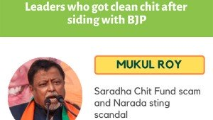 Are The Clean Chits To Politicians Linked To An Alliance With The Bjp