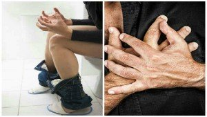 72 Year Old Man Suffering With Constipation Dies Of Cardiac Arrest After He Pooped With Too Much For