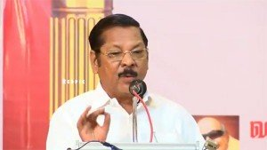 Dmk Mp Rs Bharathi Insults Journalists Compares Media Houses With Red Light Area