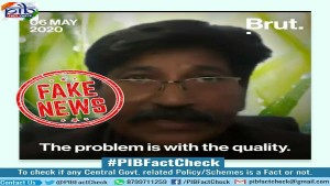 Fact Check Is India Short Of Ppe Coveralls Due To Quality Control Problem
