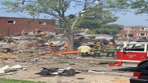1 Dead Several Injured As Explosion Flattens Baltimore Homes Reports