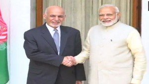 Pm Modi Afghan President Ghani Discuss Evolving Security Situation