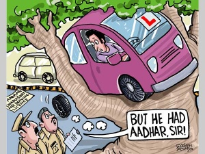 With Aadhar, have a smooth drive 'anywhere'