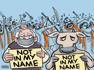 Not in My Name: Modi's 'silent' protest