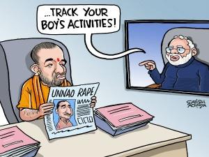 Yogi gets Modi's message from London
