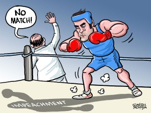 Impeachment of CJI: Rahul's boxing bout