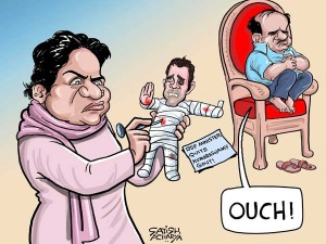 BSP's every decision hurting Congress