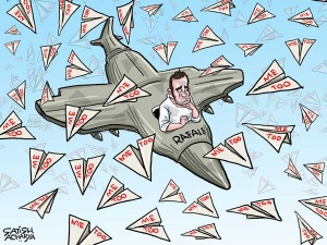 Not takers for Rafale as #MeToo hogs