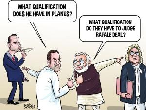 Rafale politics in SC