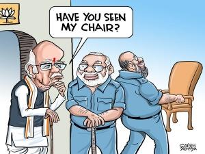 BJP says good bye to LK Advani
