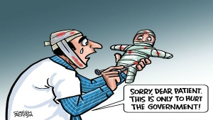 No country for doctors?