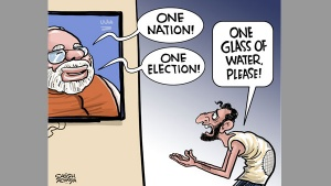 Quench thirst first Mr PM!