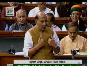 No-confidence motion LIVE: Jhappis continue, now Rajnath to hug Kharge