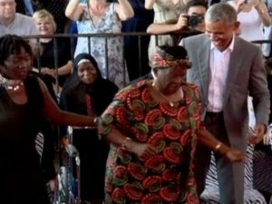This viral video of Barack Obama dancing with granny in Kenya is enough to make you happy