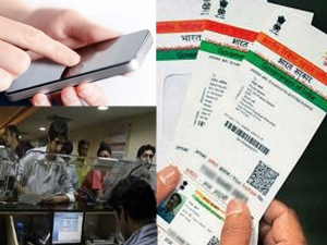What happens to Aadhaar data already collected by mobile companies, banks
