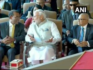 PM Modi attends Ibrahim Solih's swearing-in ceremony in Maldives