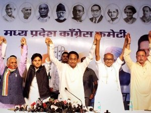 Congress trying to win over disgruntled leaders by distributing organisational posts in MP