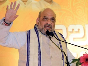Lok Sabha Election updates: Amit Shah defends Sadhvi Pragya, says she was framed