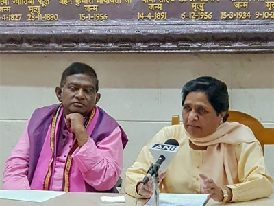 Congress leadership jittery over BSP supremo joining hands with Jogi