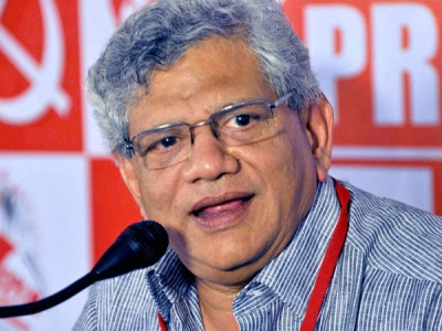 Yechury calls on secular, democratic forces to ensure BJP is defeated