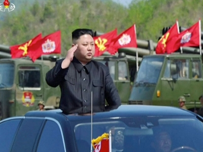 Kim to set foot in South Korea