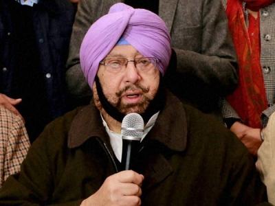 Punjab CM Amarinder Singh exempts