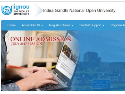 IGNOU Admission 2018: Admission for July