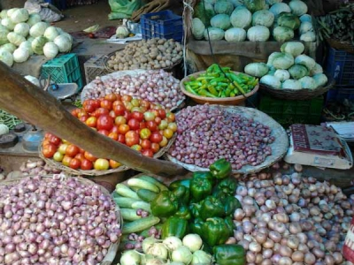 Retail inflation at five month high of 5 percent in June