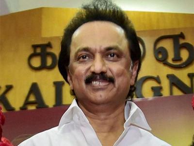 MK Stalin files nomination for DMK post