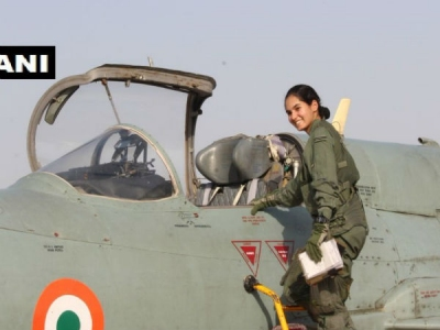 Avani Chaturvedi becomes first Indian wo