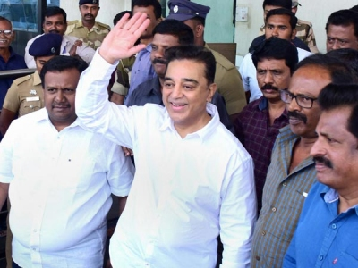 First hurdle in Haasan's political