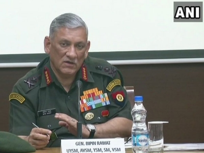 Army chief hails China's military might