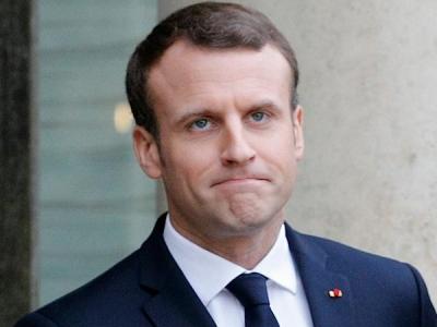 France has not declared war on Syria regime: Macron