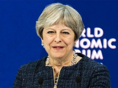 British PM faces flak at home over air
