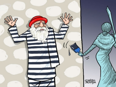 Justice delivered: Asaram behind bars