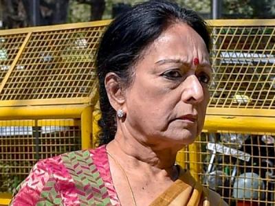 Interim protection to Nalini Chidambaram in Saradha chit fund case