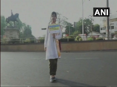 Gujarat woman's 1,100-km walk to Delhi