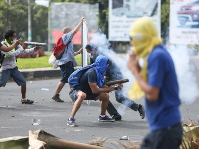 Nicaragua: 20 killed in cops-protesters