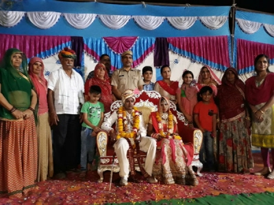 Rajasthan: Police station hosts wedding