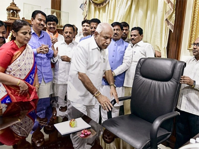 Yeddy stays busy with new appointments
