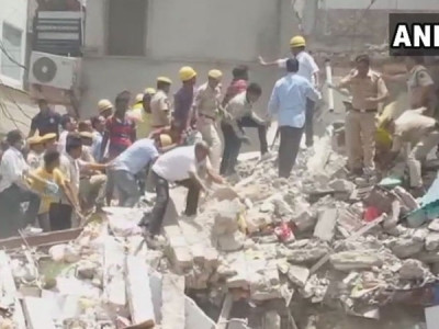 Jodhpur: Three-storey building collapses