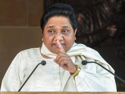 Mayawati slams BJP, doesn't spare Cong
