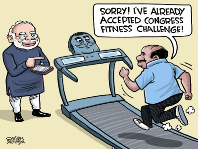 Kumaraswamy can't take fitness test