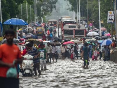 Monsoon rains to continue in Mumbai